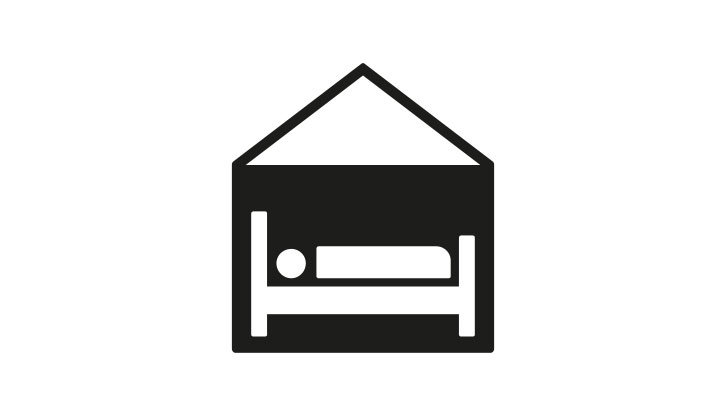 Hotel / Overnight stay icon