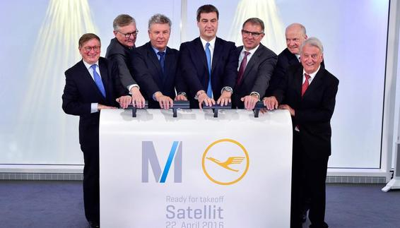 Satellite terminal cleared for launch