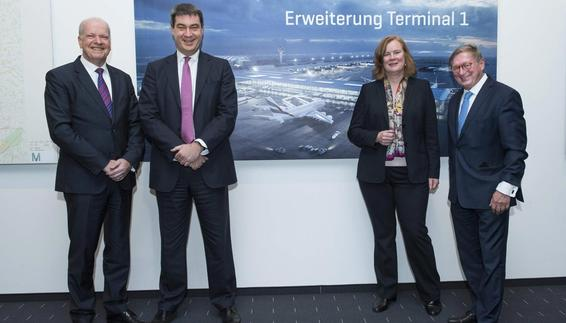 Munich Airport introduces Terminal 1 expansion plans