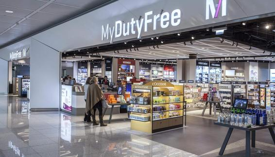 MyDutyFree Shop in the satellite