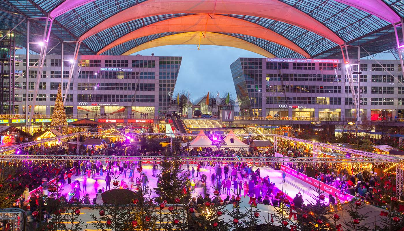 Munich Christmas Market.Christmas And Winter Market 2018 Munich Airport