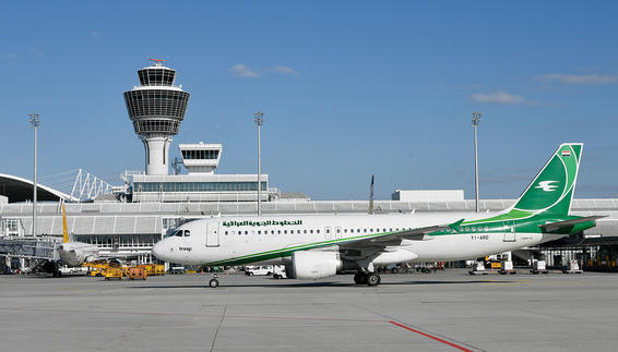 First flight Iraqi Airways