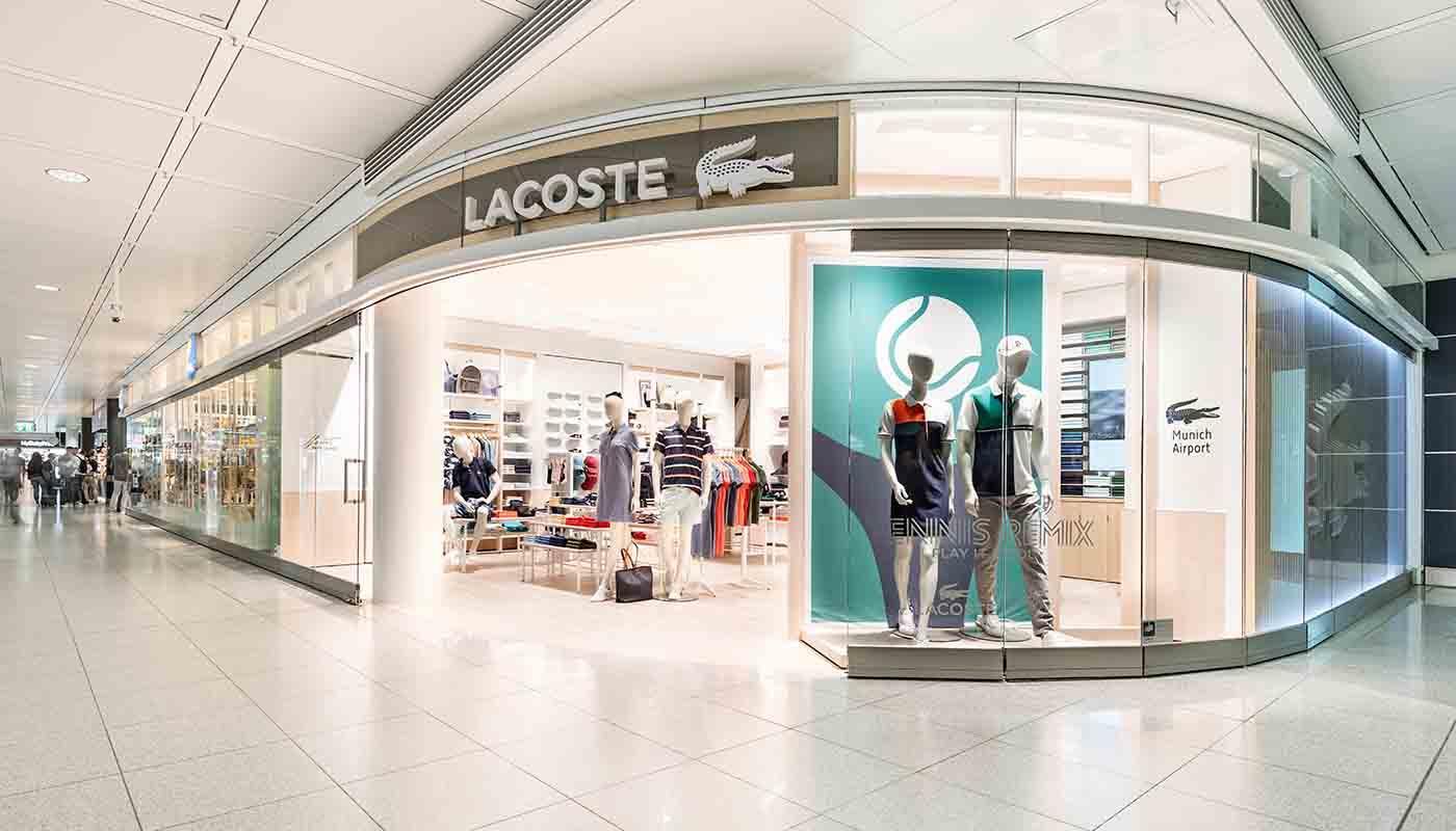 detailed look 34dc5 71d6b Lacoste - Munich Airport