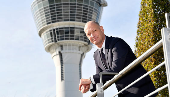 Jost Lammers, CEO and Labor Director of Flughafen München GmbH