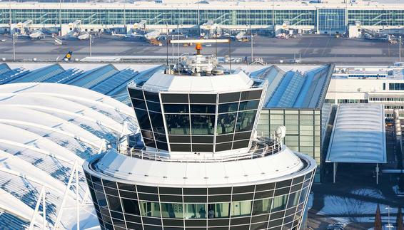 Tower of Munich Airport
