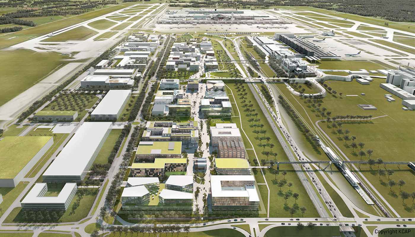 LabCampus to provide home for business and R&D - Munich Airport